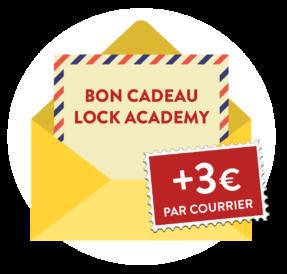 Offrez un bon cadeau Lock Academy Toulouse Meilleur escape game
