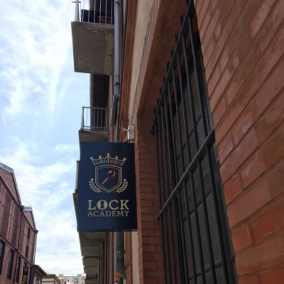 Fanion logo Escape Game Toulouse de Lock Academy
