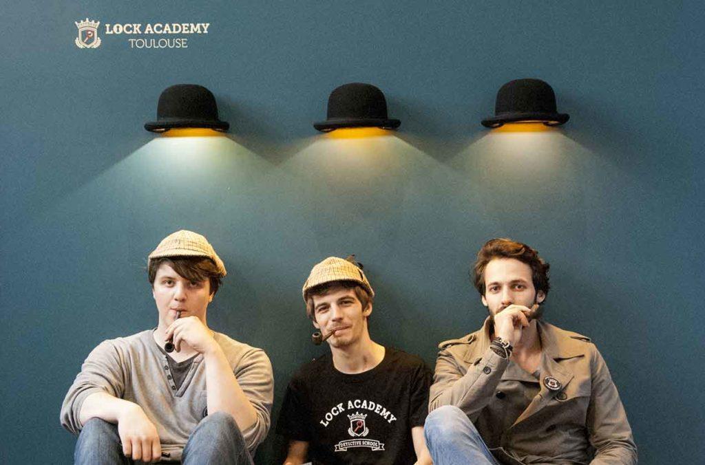 La Lock Academy - Escape Game Toulouse vous accueille dans la bonne humeur pour faire découvrir ses jeux insolites