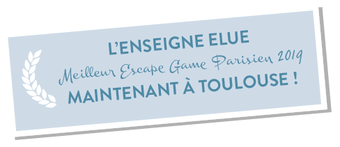 La Lock Academy - Escape game Toulouse a reçu le prix du Meilleur Escape Game Paris 2019